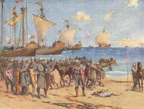 Normans-invade-ireland-1200x911