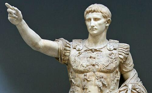 Statue-Augustus-Prima-Porta-romans-add-their-genes